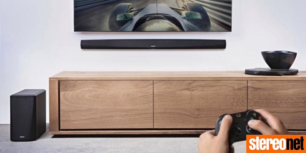 Denon HEOS AirPlay 2 Streaming Soundbar