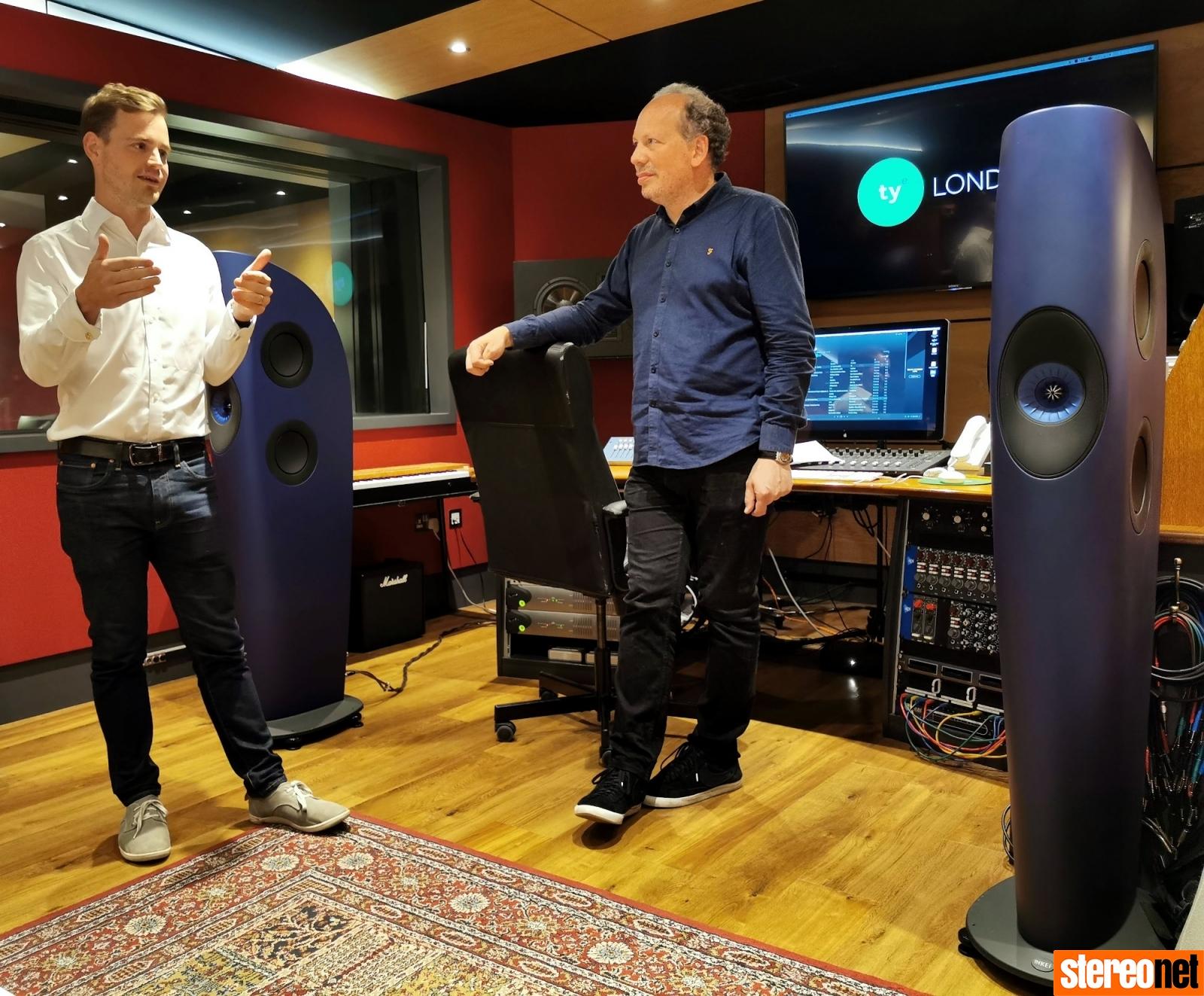 Jack and Sean KEF Blade 2 Sound Tasting at Tileyard Studios