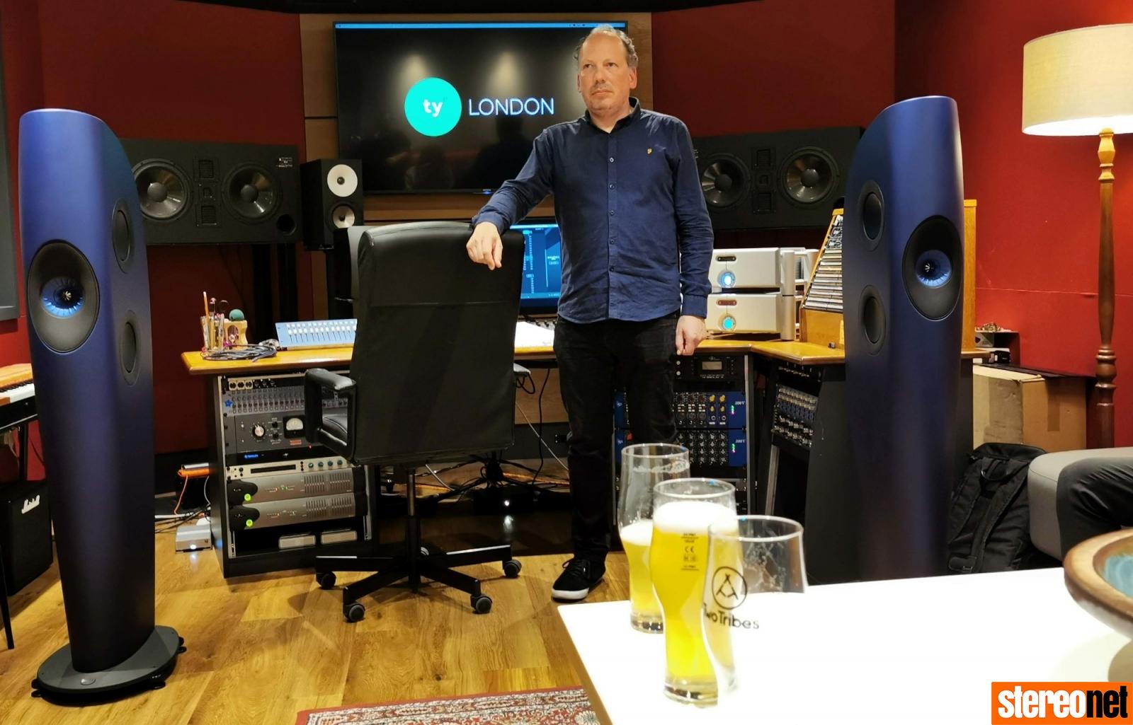 Sean Hargreaves Tileyard Studios KEF Blade 2 Sound Tasting