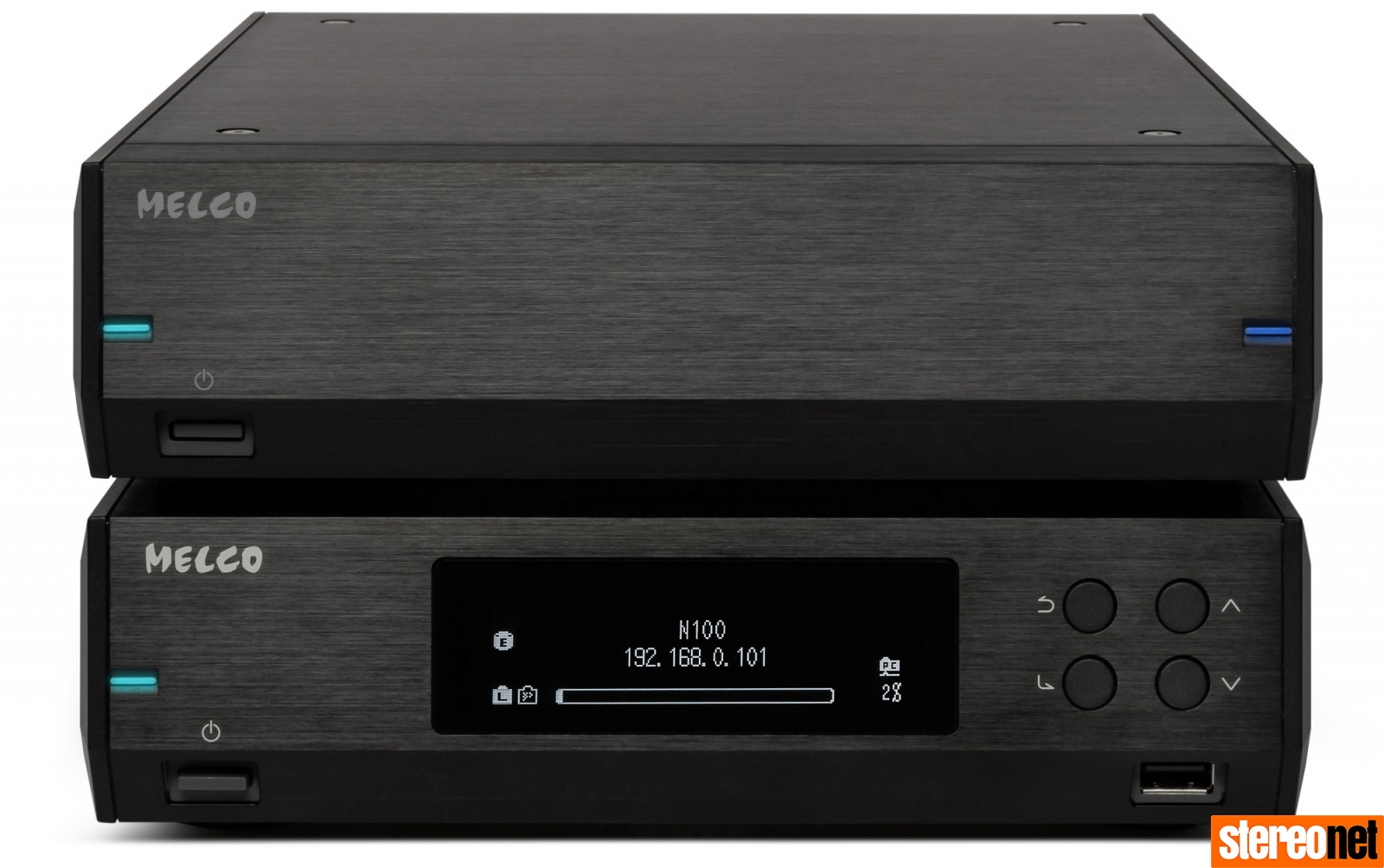 Melco N100 and E100 Black Finish