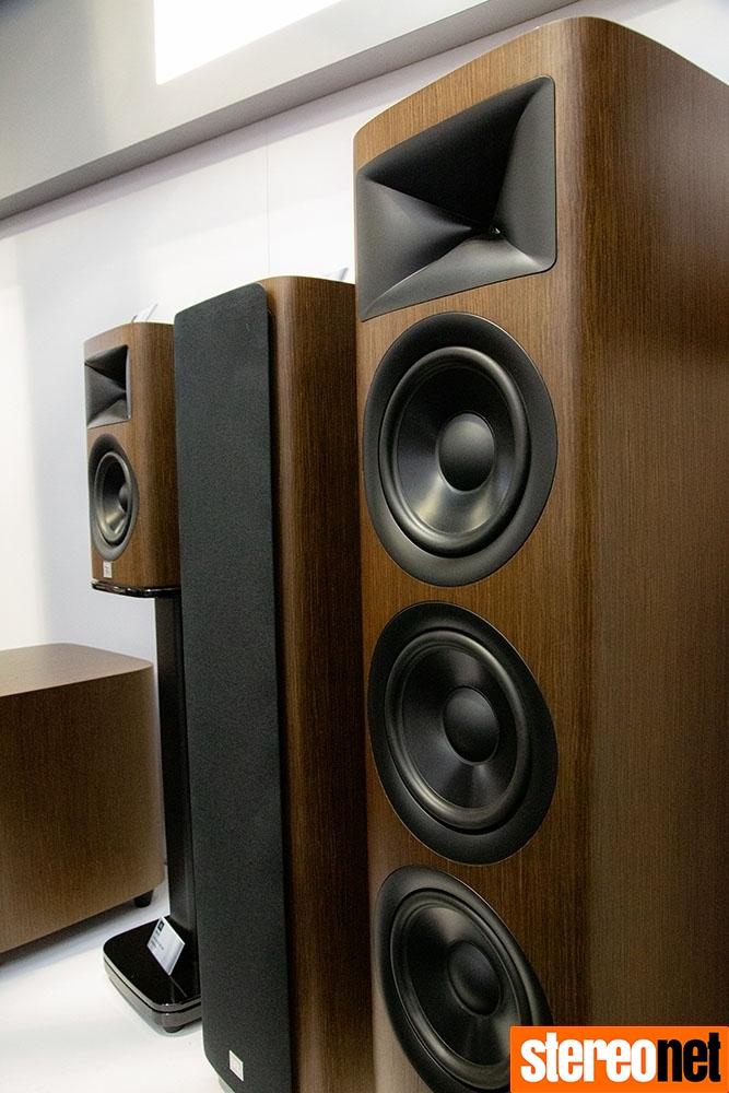 JBL HDI speakers