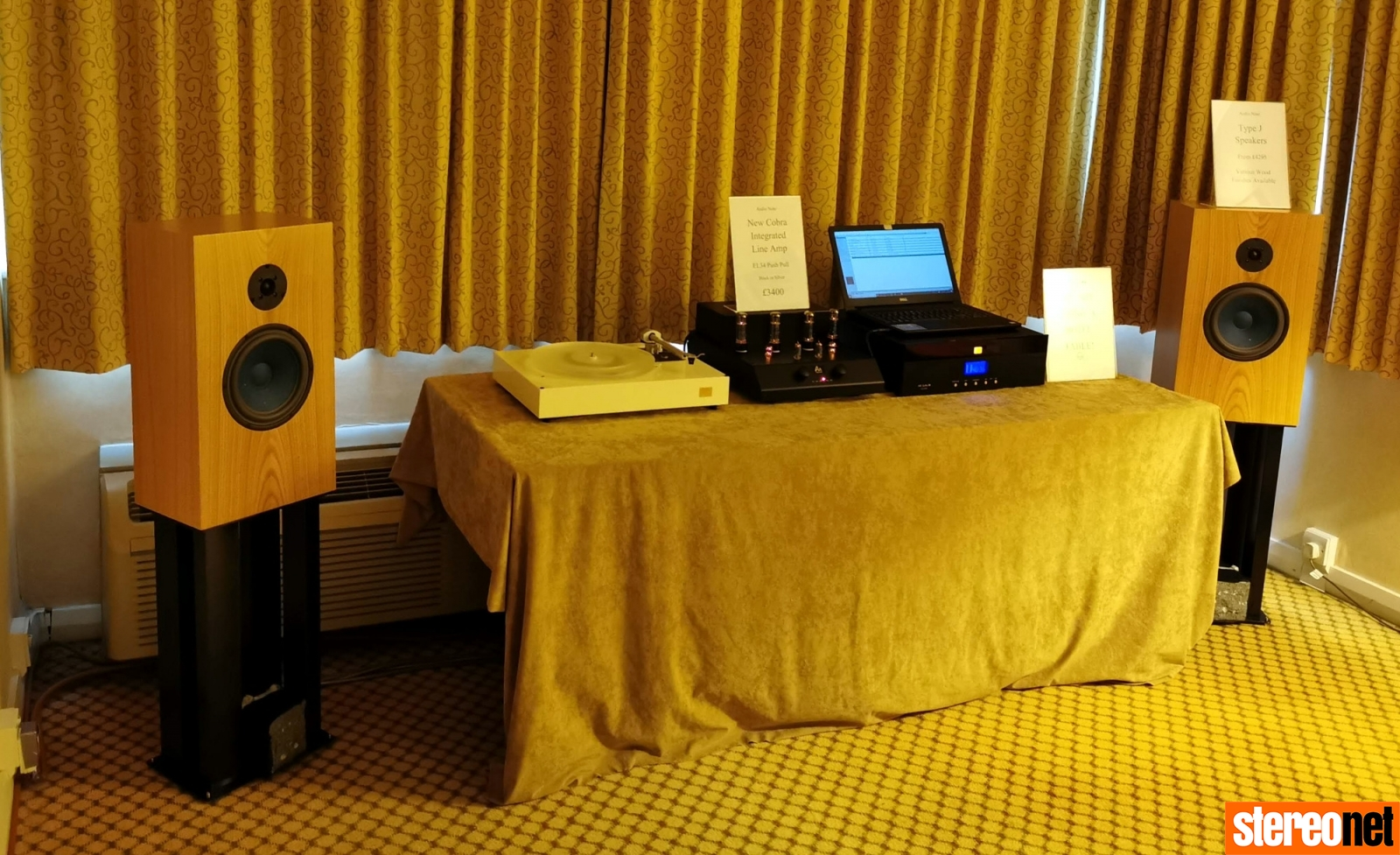 Audio Note Bristol hifi show 2020 report