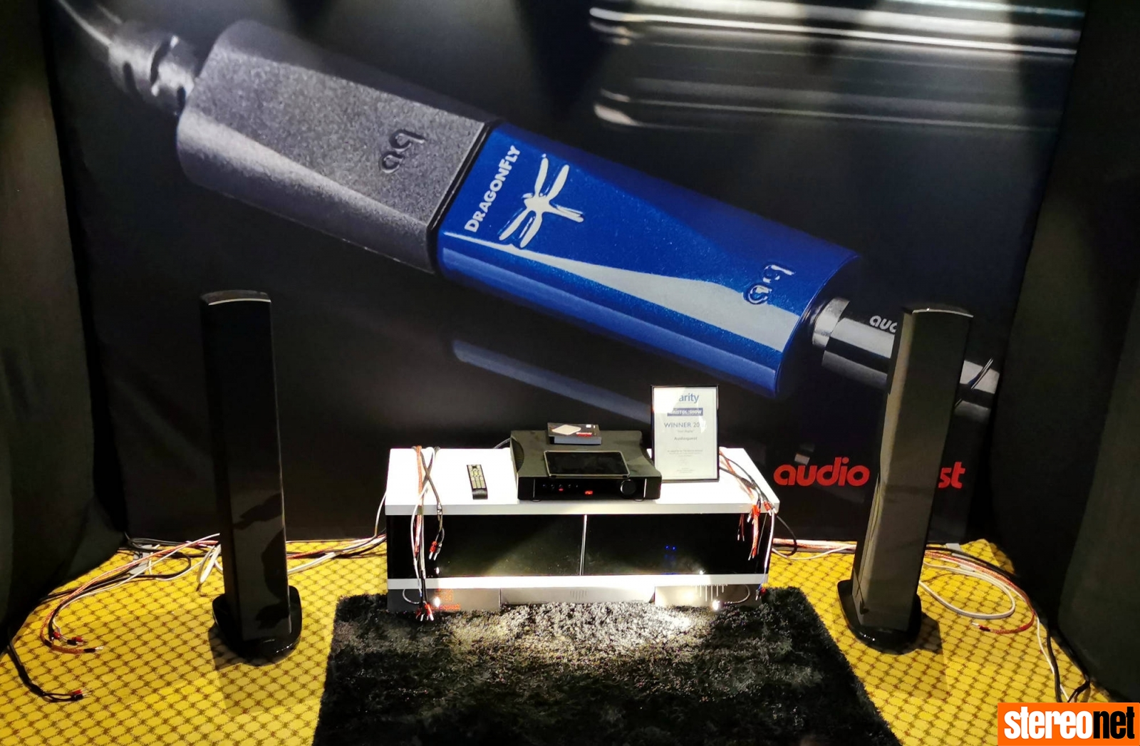 Audioquest Bristol hifi show 2020 report