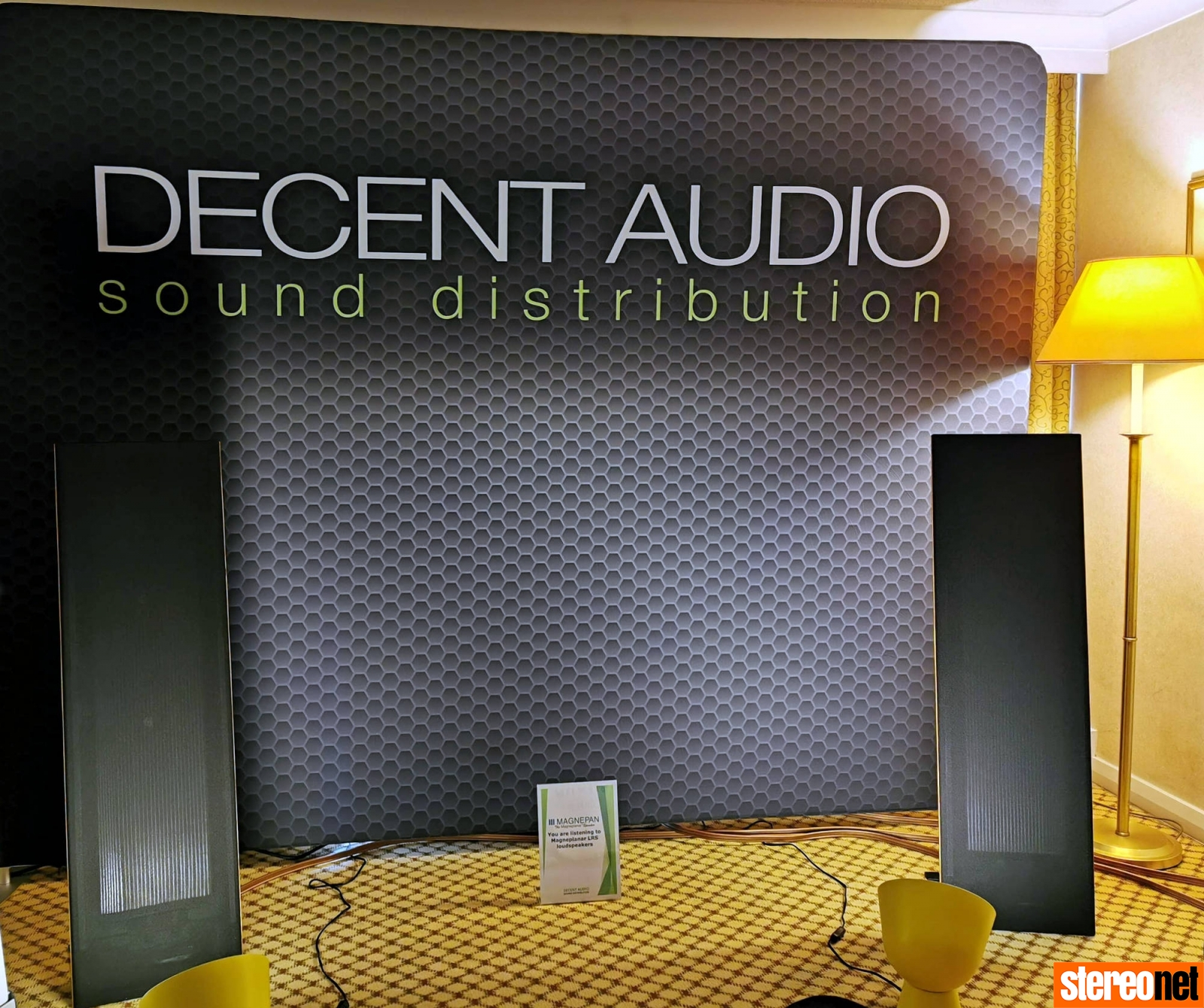 Decent Audio Magnepan Bristol hifi show 2020 report
