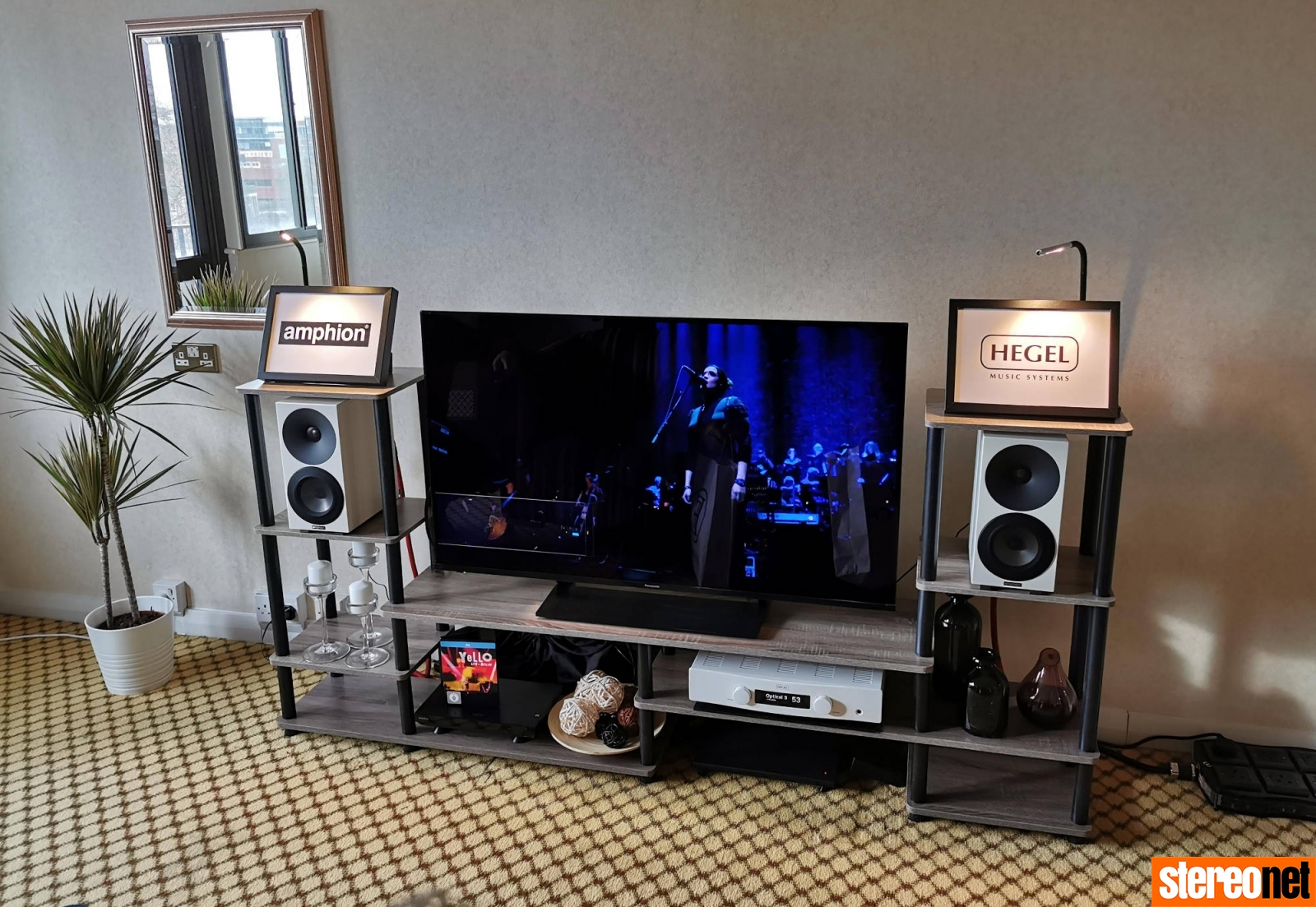 Hegel Amphion Bristol hifi show 2020 report