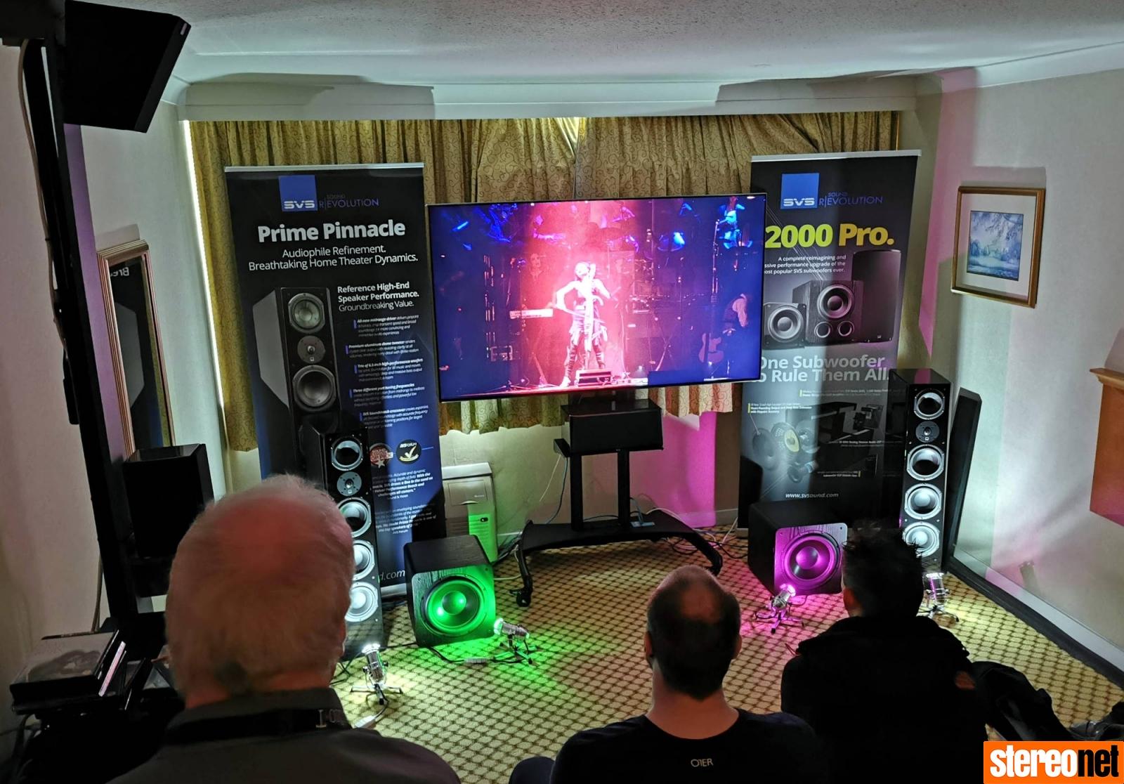 Emotiva SVS Bristol hifi show 2020 report