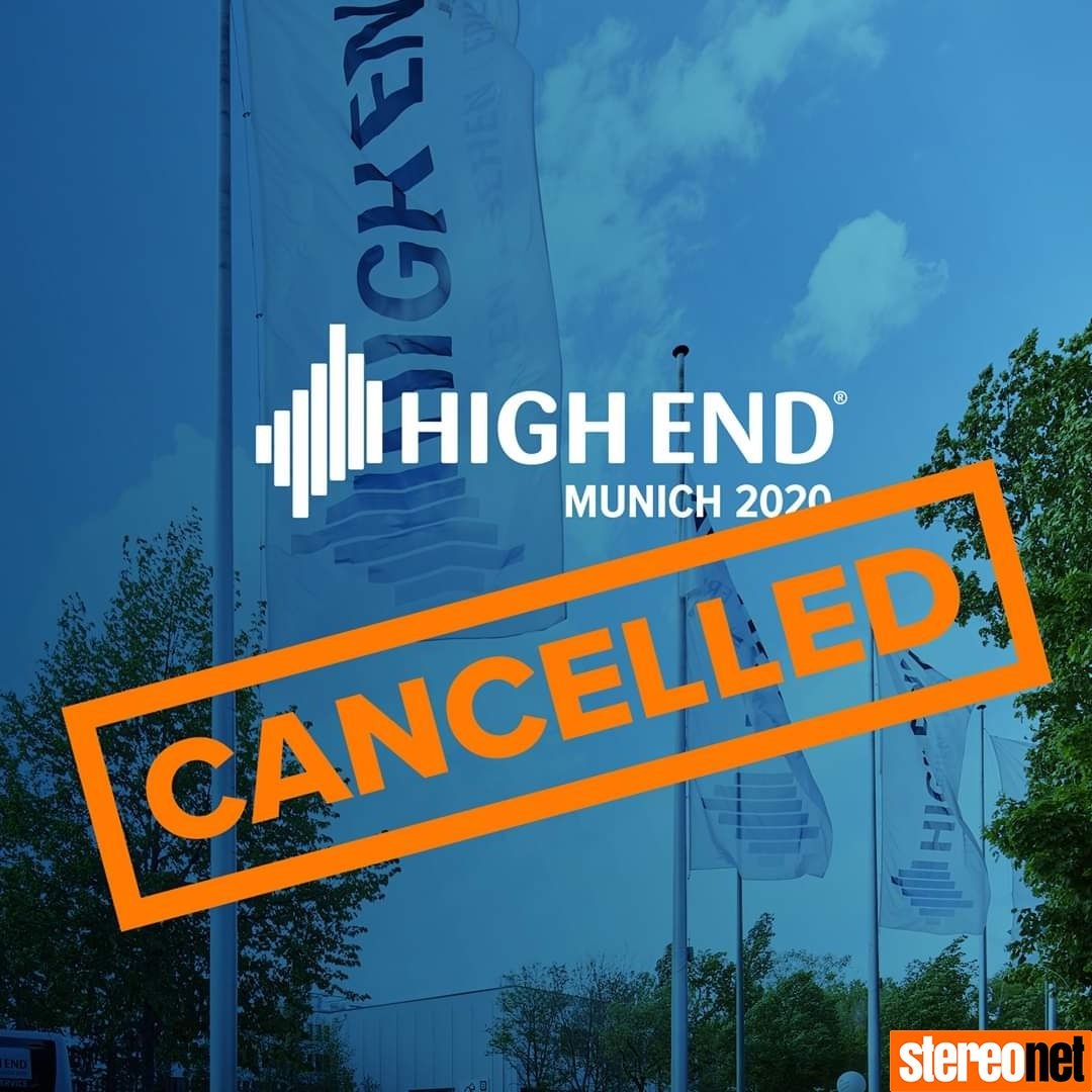 High End Munich 2020 Cancelled