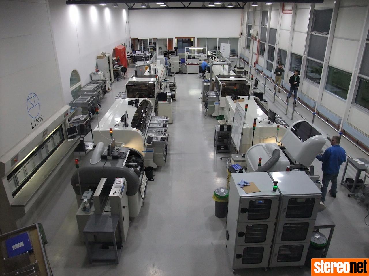 Linn factory