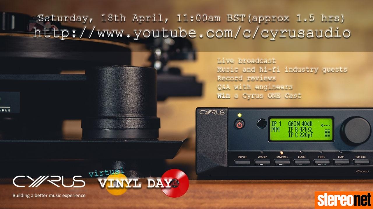 Virtual Vinyl Day