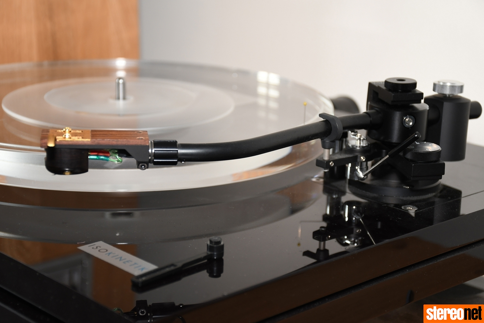 Setting up a turntable