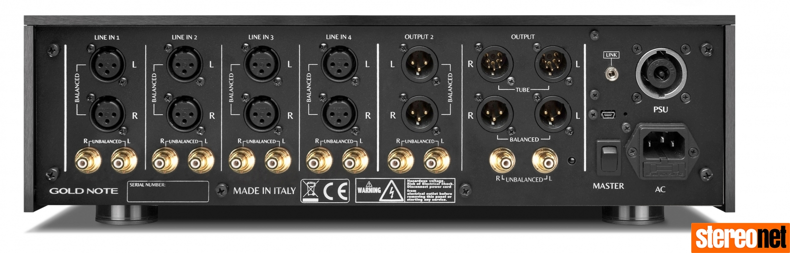 Gold Note P-1000 MkII preamp