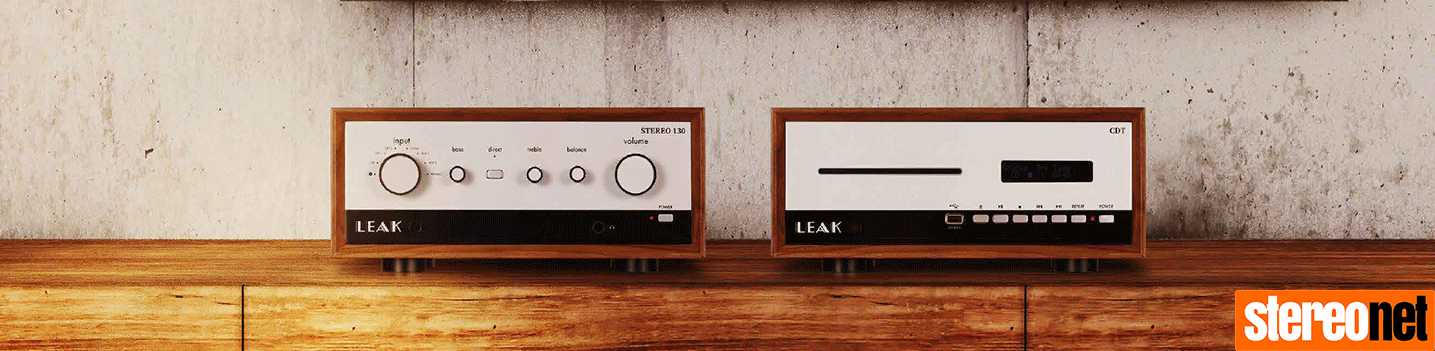 Leak Stereo 130 and CDT