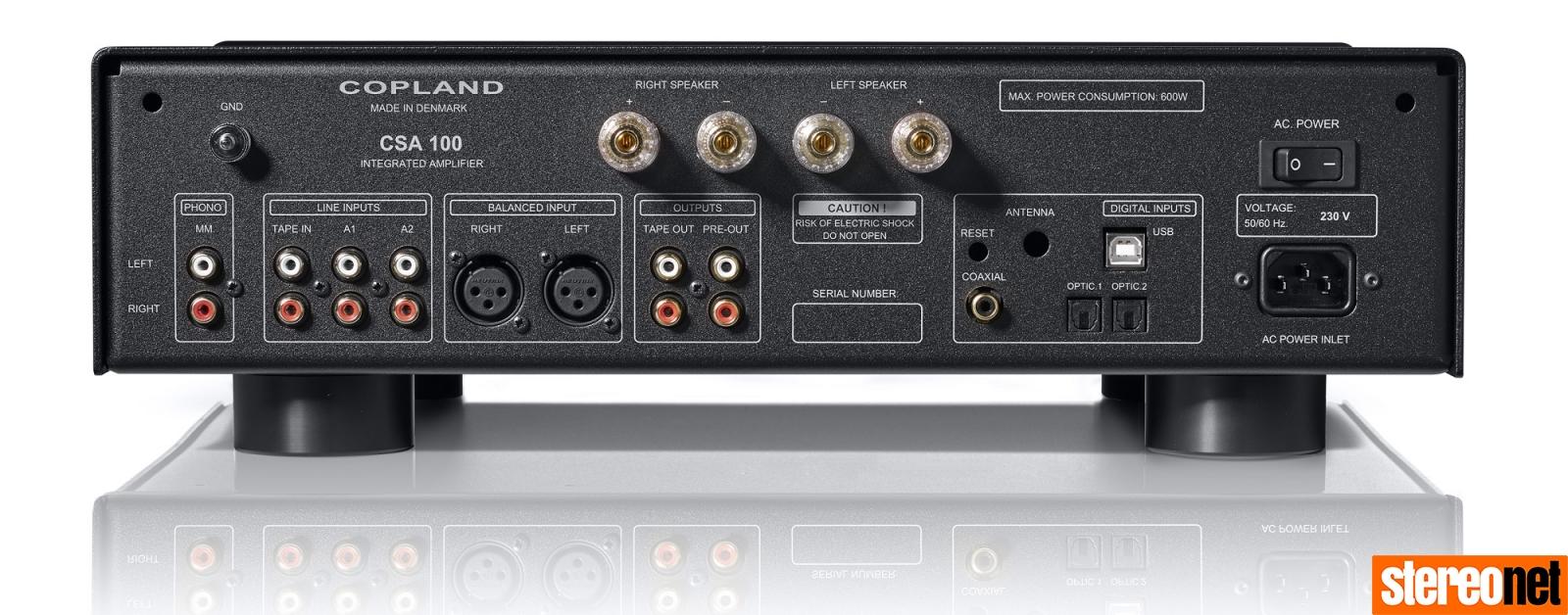 Copland CSA100 integrated amplifier