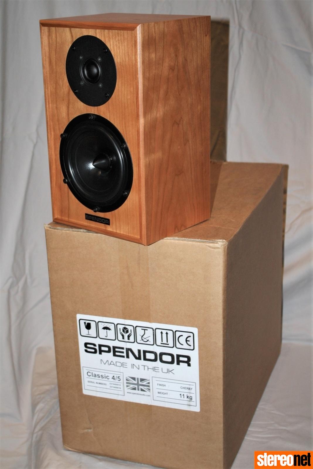 Spendor Classic 4/5 review