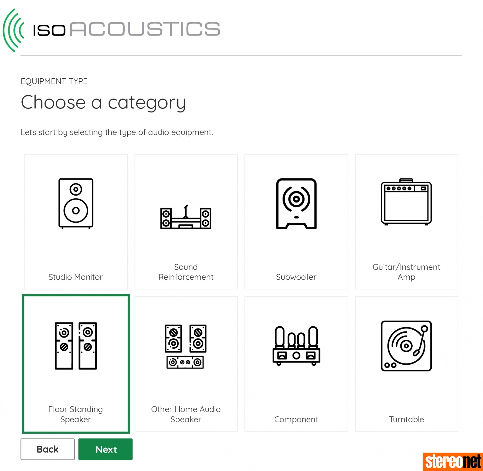 IsoAcoustics Calculator