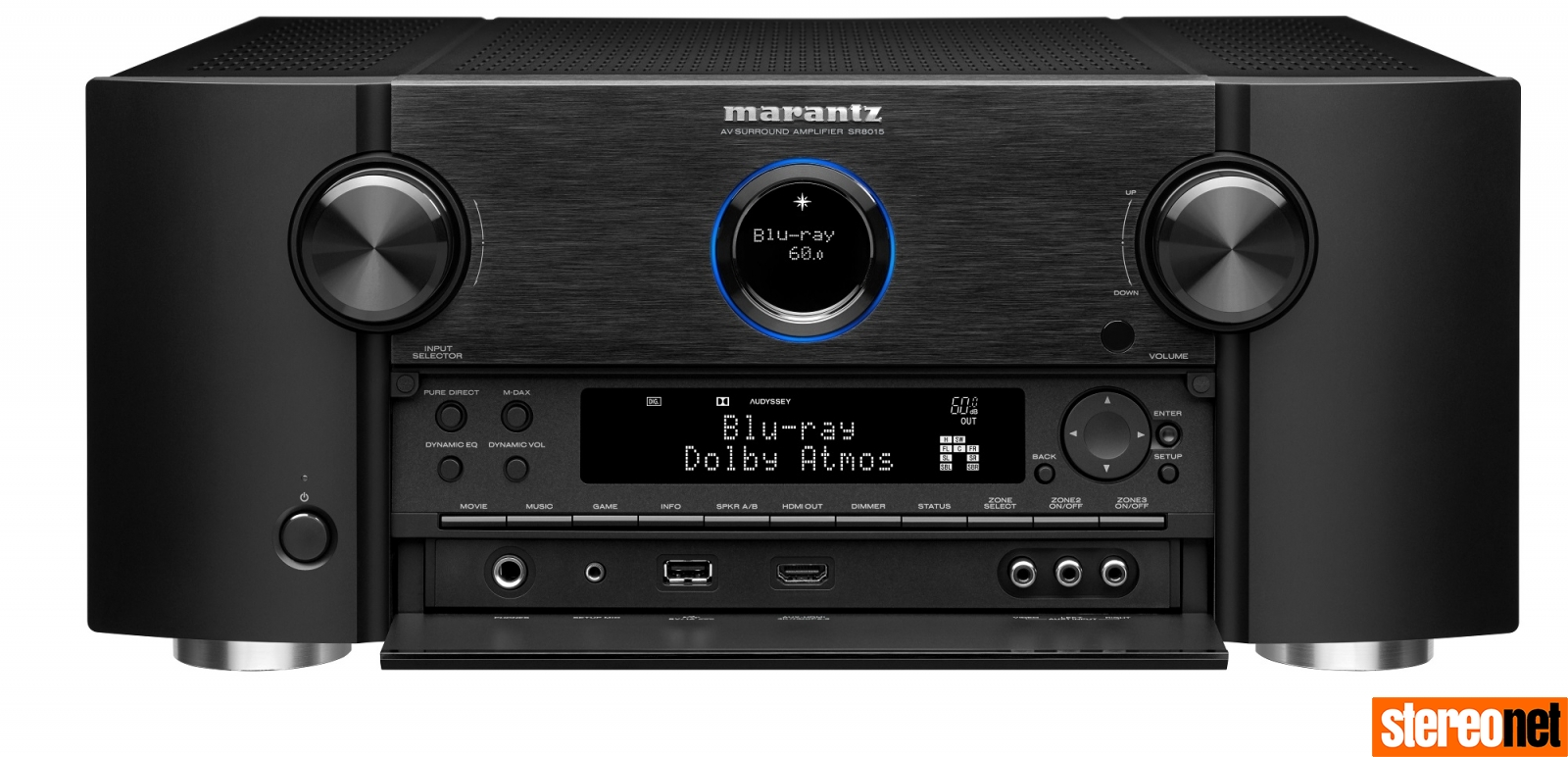 Marantz SR8015 uk hifi news