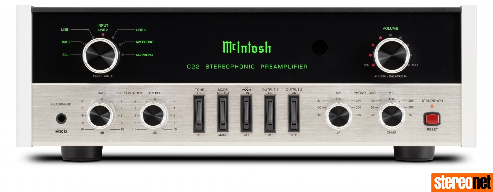 McIntosh C22 Mk V preamp uk hifi news