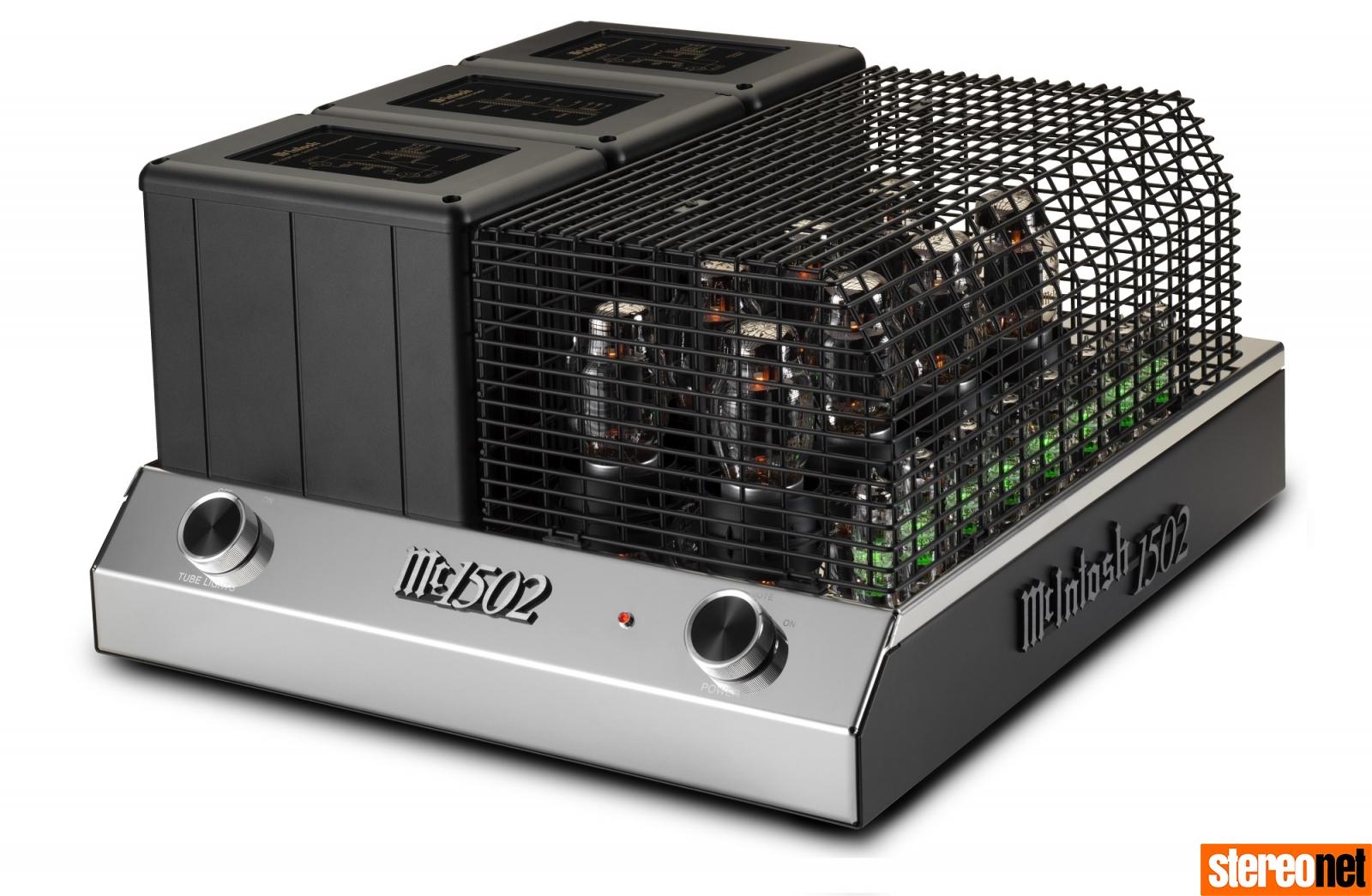 McIntosh MC1502 valve power amp uk hifi news