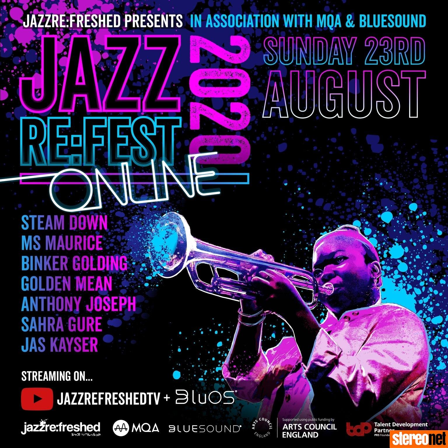 Jazz Re:Fest 2020 MQA and Bluesound BluOS
