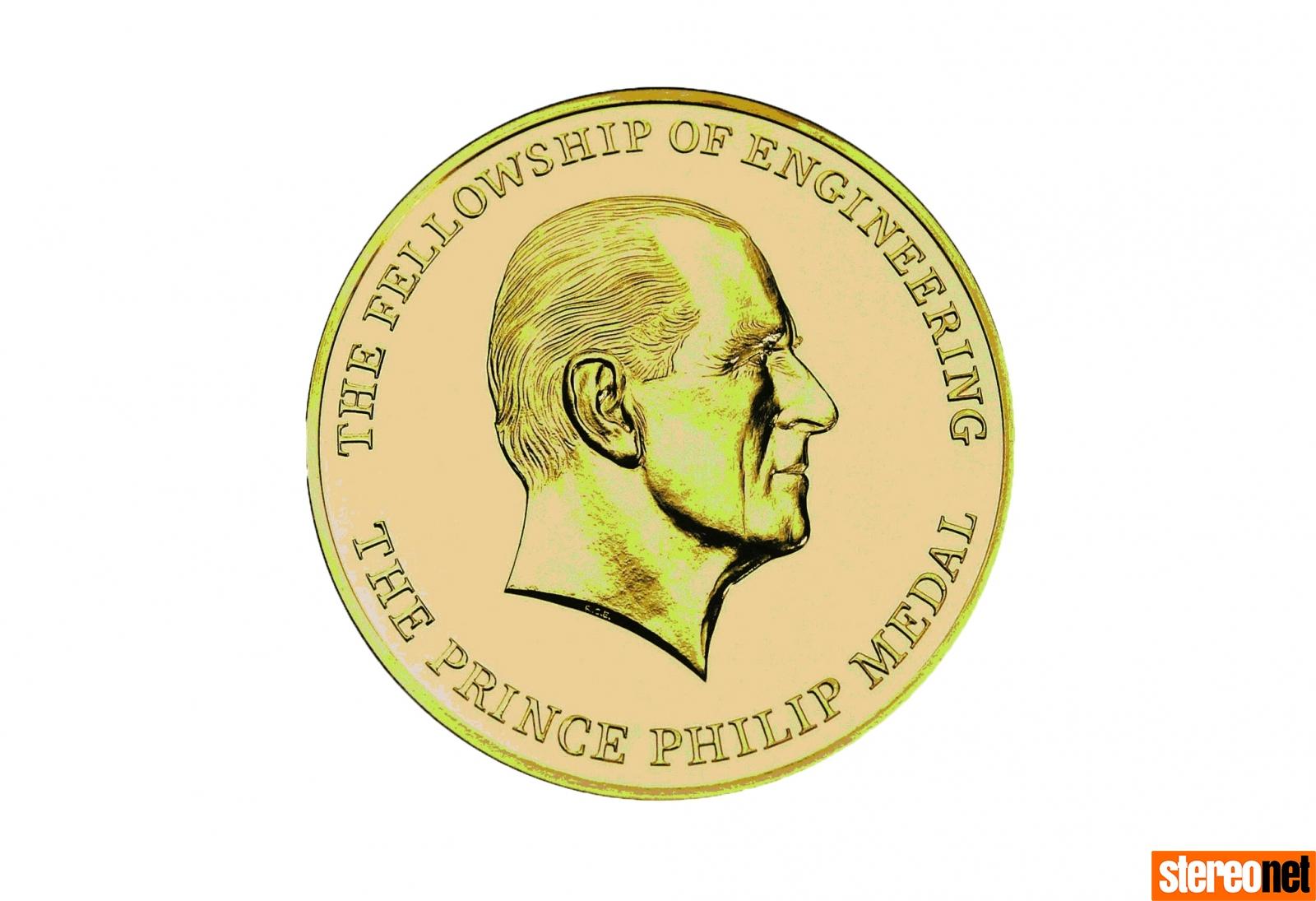 Bob Stuart MQA Prince Philip Medal