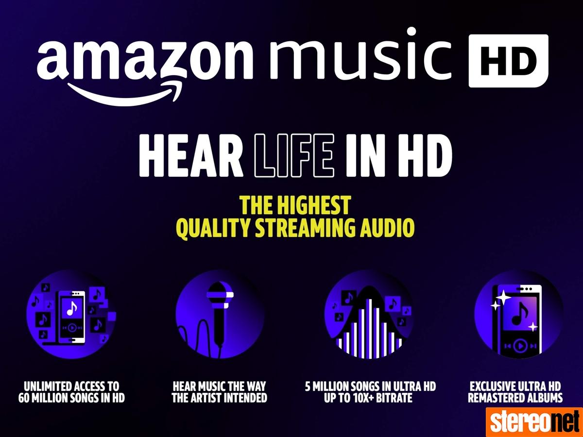 Amazon Music HD Universal and Warner
