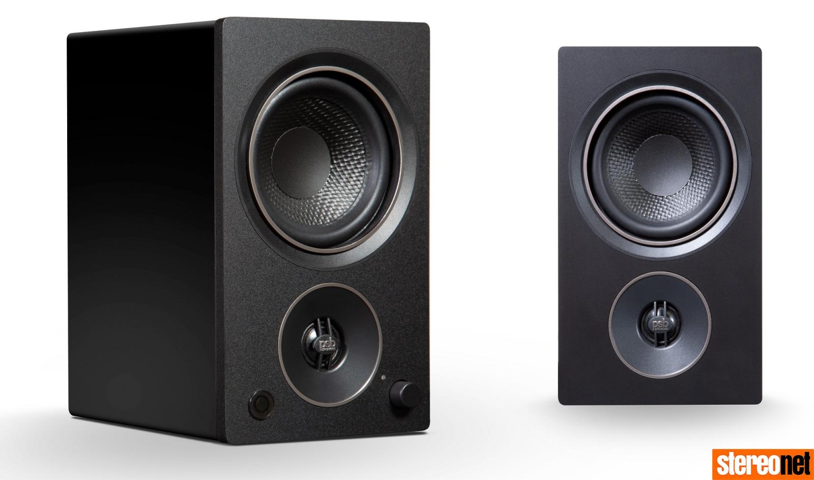 PSB Alpha AM3 Alpha AM5 active monitors