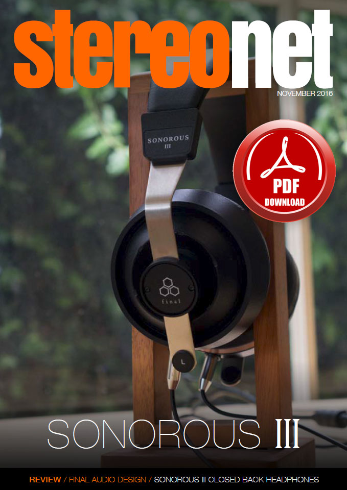 Final Audio Design Sonorous III Headphone Review