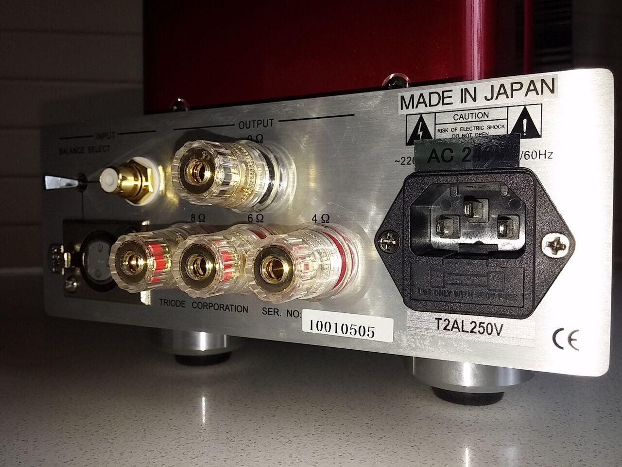 Reviewed: Triode TRV-M88SE Mono Valve Amplifiers