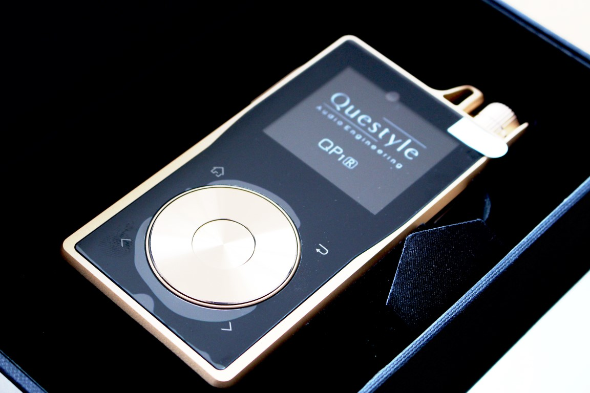 Questyle QP1r Digital Audio Player Screen