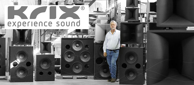 Krix Loudspeakers Now Available Throughout UK