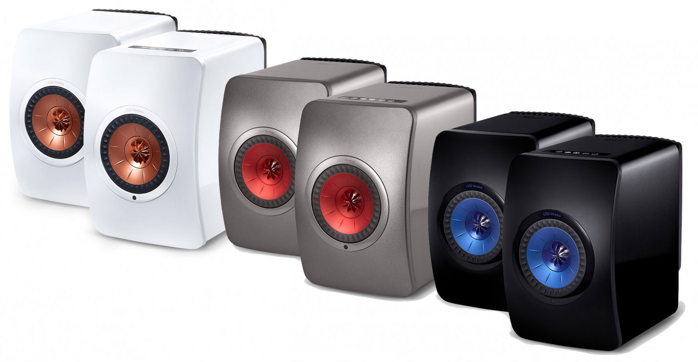 KEF LS50 Wireless Colours