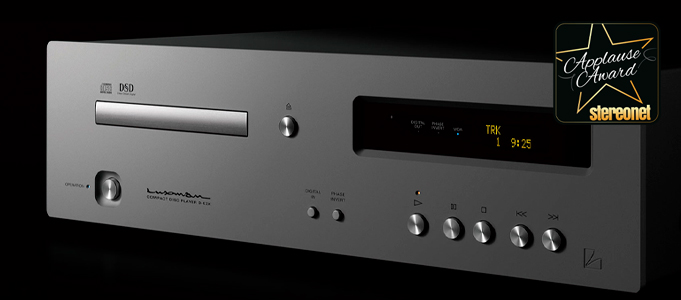 Luxman D-03X CD Player Review
