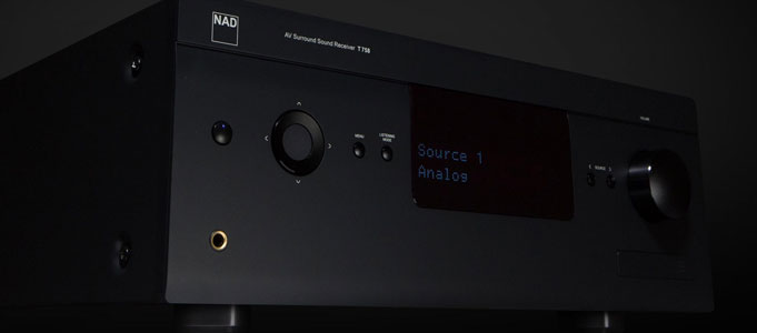 NAD's Third Generation T758 AV Receiver With 4K UHD, Dolby Atmos and