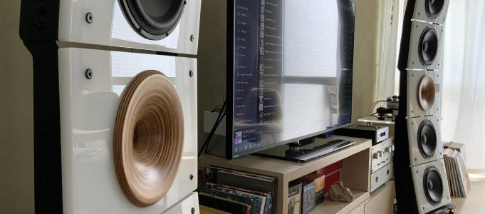PureAudioProject Quintet10 Horn2 Tower Loudspeaker Launched