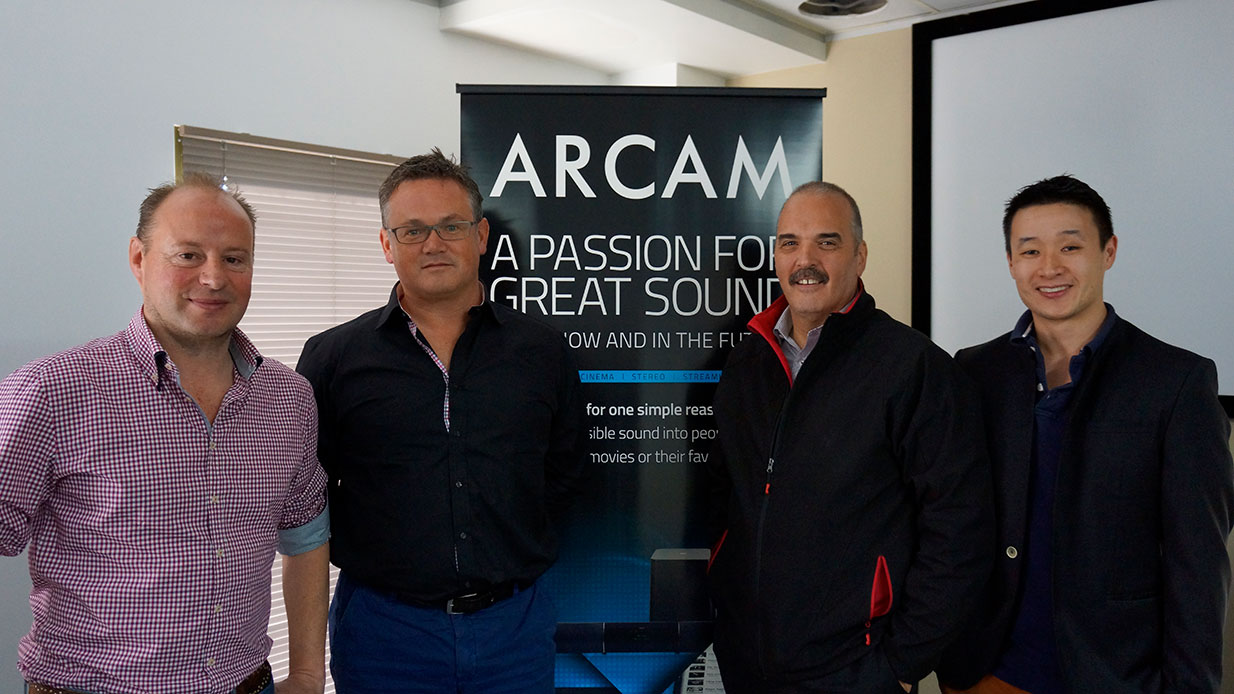 Arcam Team in Australia