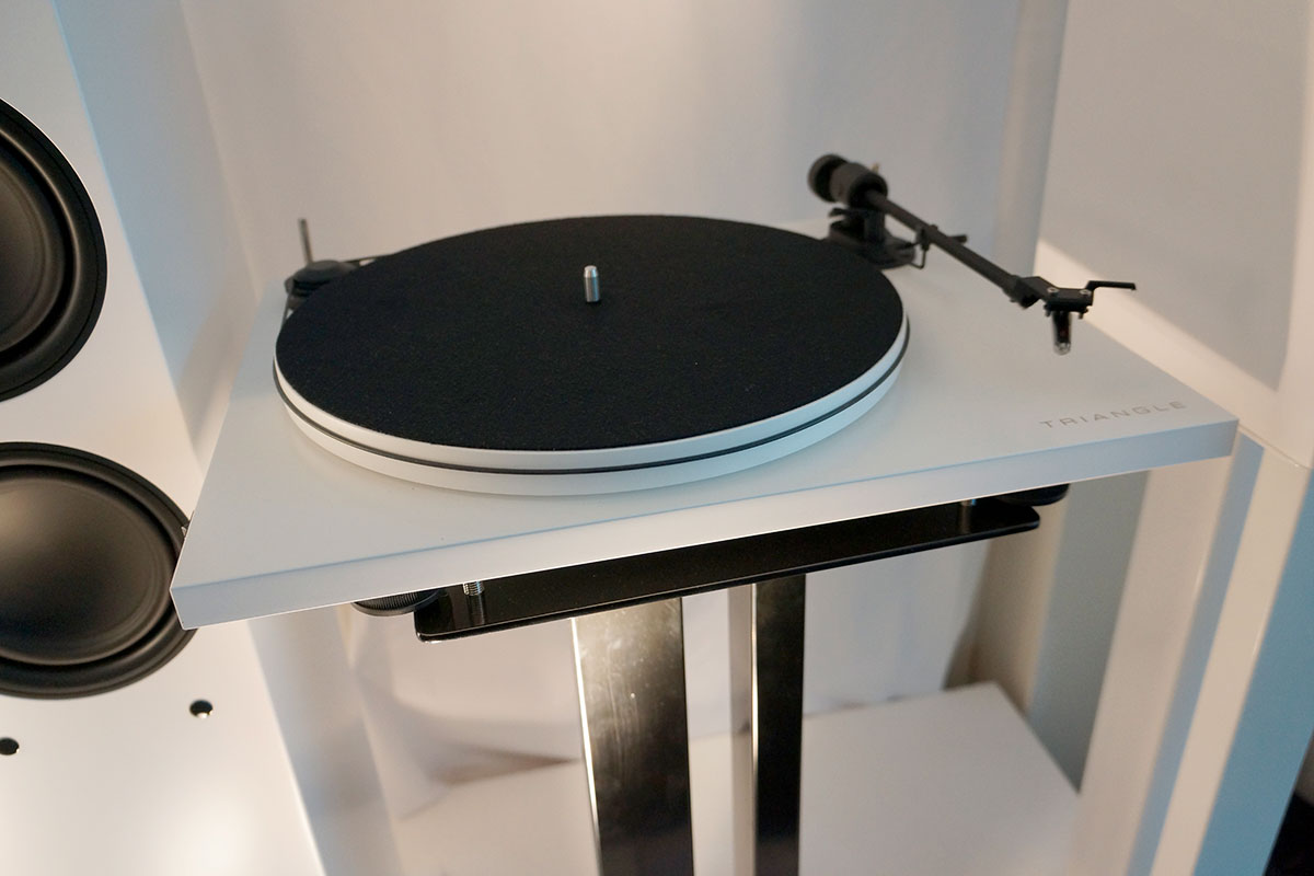 Triangle Turntable