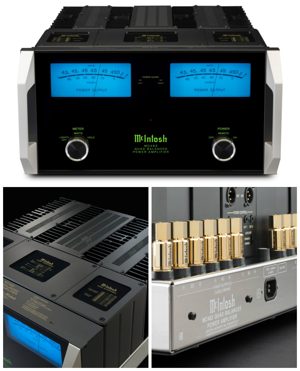 McIntosh MC462 collage
