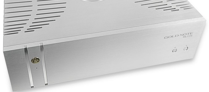 GOLD NOTE PA-1175 MK2 POWER AMPLIFIER ANNOUNCED