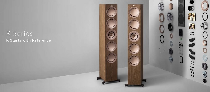 KEF R SERIES LOUDSPEAKERS ON DEMO AT THE BRISTOL HI-FI SHOW