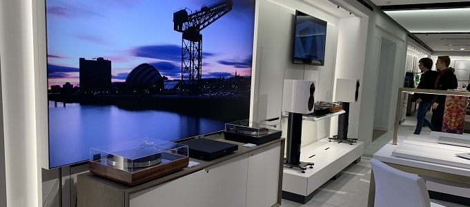 LINN SHOWCASED IN HARRODS CONCESSION