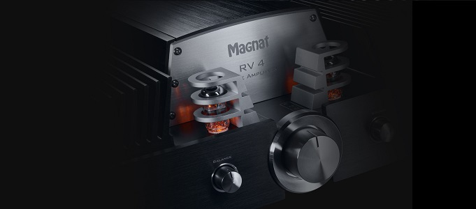 Magnat RV 4 Hybrid Tube Integrated Amplifier - Looks and