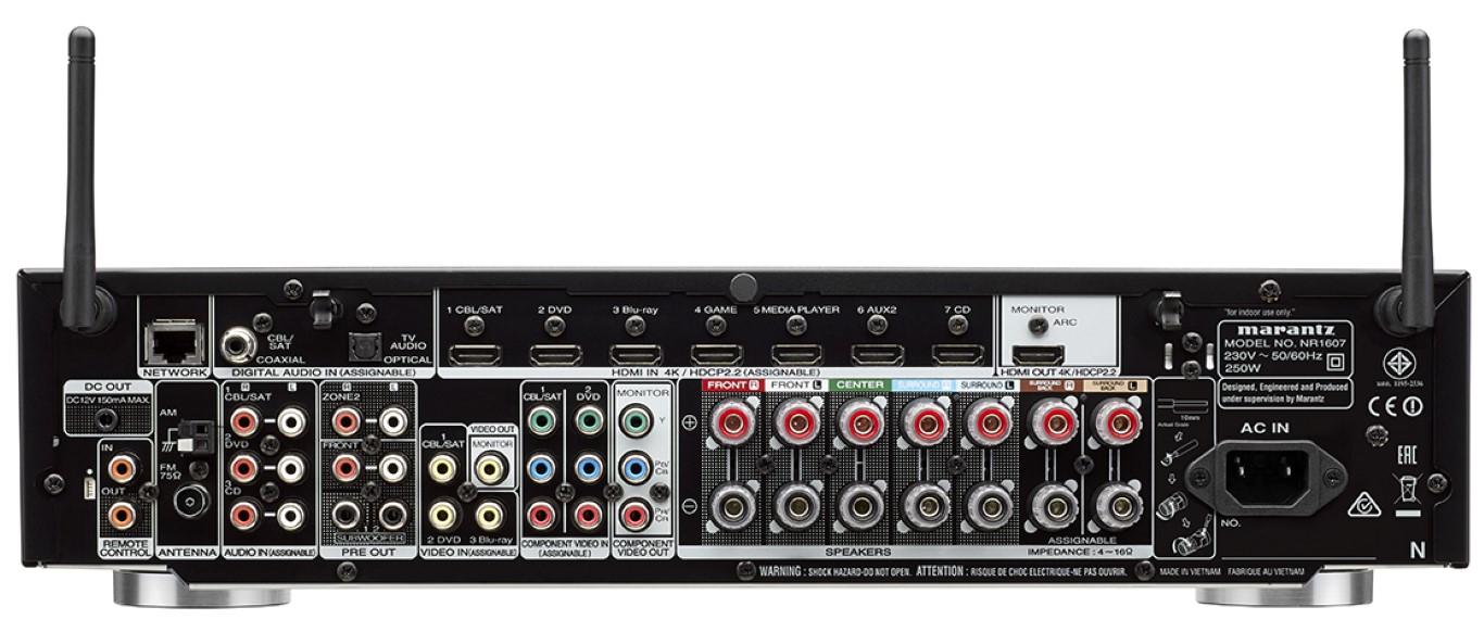 Marantz NR1607 Slim Design AV Receiver