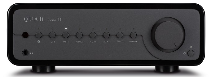 QUAD VENA II INTEGRATED AMPLIFIER WITH UPGRADED FEATURES