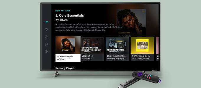 Roku Adds Tidal Channel