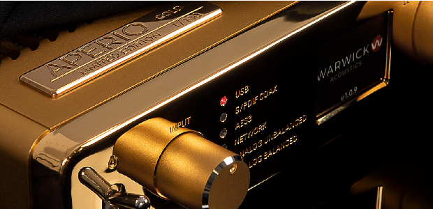 Warwick Acoustics Aperio Goes Gold