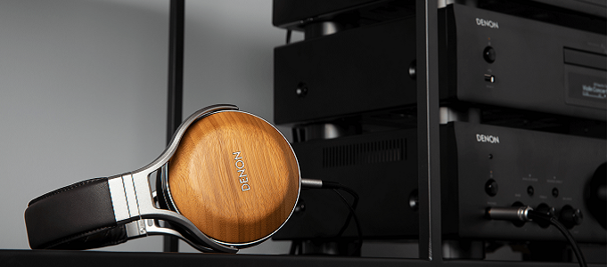 DENON AH-D9200 FLAGSHIP HEADPHONES HANDMADE AND CRAFTED FROM BAMBOO