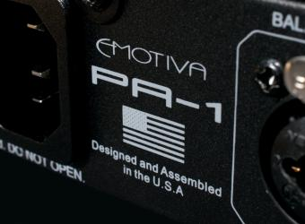 EMOTIVA STEALTH PA-1 CLASS D MONOBLOCKS SPOTTED AT CEDIA 2018