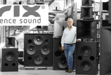 KRIX LOUDSPEAKERS ARRIVE IN UK
