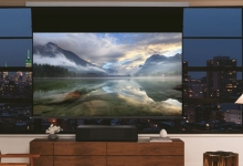 SONY'S ULTRA-SHORT THROW 4K PROJECTOR, A ROOM WITH A VIEW
