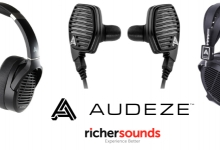 Audeze Headphones Now at Richer Sounds